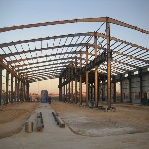Prefabricated Warehouse in Libya