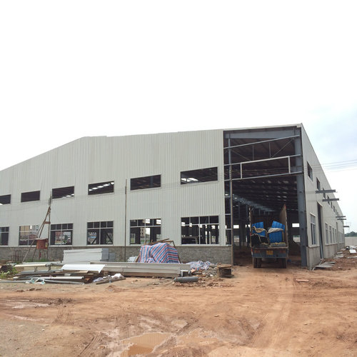 Prefabricated Steel Structure Workshop Building in Shishan