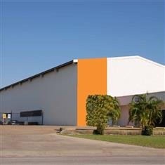 large span steel structure warehouse with steel structure building design