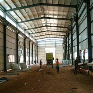 Steel Structure Workshop in Indonesia