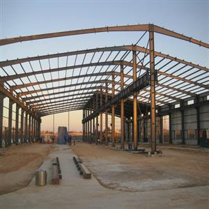 Steel Structure Warehouse in Libya