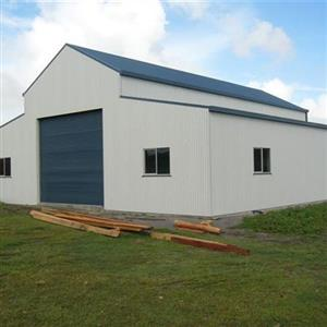 Agricultural Equipment Repository Steel Shed