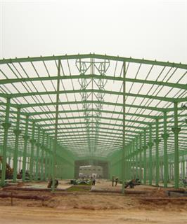 Steel Structure Aluminum Large Factory