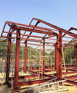 Steel Structure Clubhouse