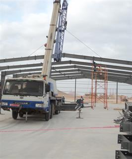 Steel Structure warehouse in Oman