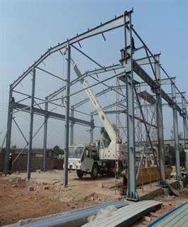 Steel Structure Workshop in Ghana