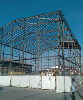 Steel Structure Warehouse in Tanzania