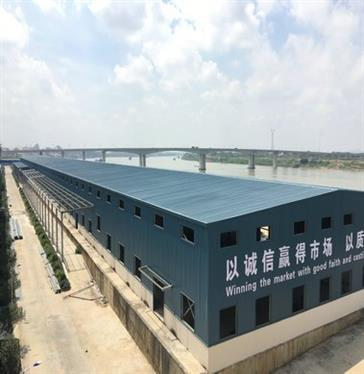 New nano material production workshop in Guangxi
