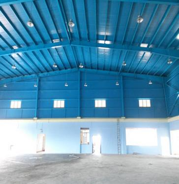 Steel Structure Badminton Hall