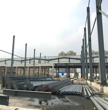 Steel structure cold storage in Ding Hao