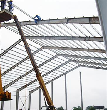 Steel Structure Warehouse Project In Congo