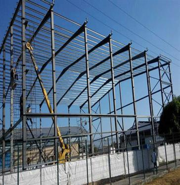 Steel Structure Warehouse in Venezuela