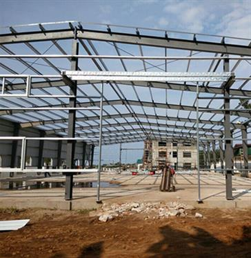Steel Structure Workshop in Tanzania