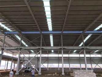 The market is playing more and more attention to the steel construct work