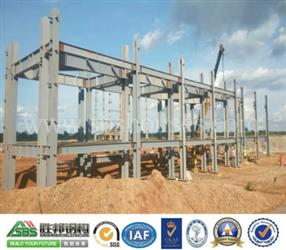 Construction scheme of prefabricated steel structure roof of steel structure net frame-3