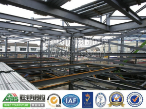 Construction scheme of prefabricated steel structure roof of steel structure net frame-1