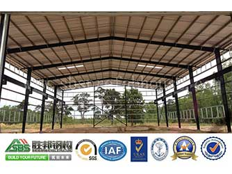 Steel Structure Factory Forms High - Quality Situation