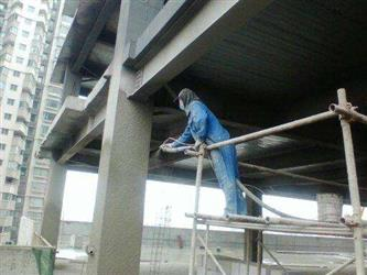 The Description of Steel Structure Construction Coating Process