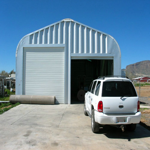 Economic Metal Shed Garage Building - SBS