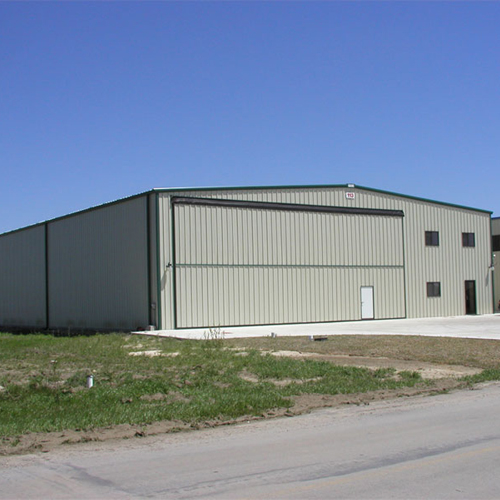 steel structure hangar building