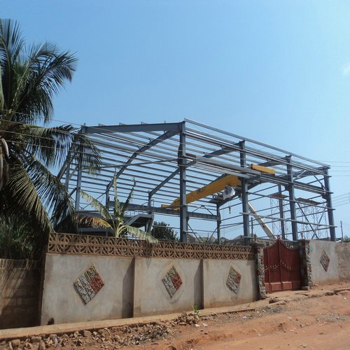 Steel Structure Warehouse In Ghana-Great Steel building Structure Design