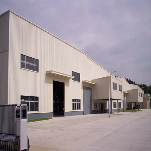 Warehouse Steel Frame, Steel Structure Warehouse Shed