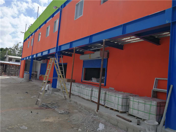 Steel structure supermarket A in Jamaica