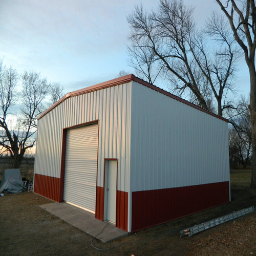 Steel Structure Garage