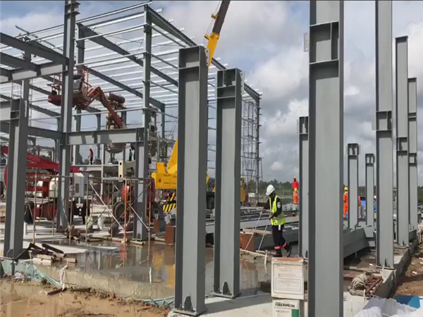 Steel Structure Offices in Brunei