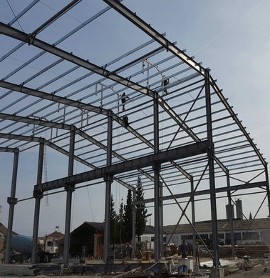 Steel Structure Warehouse in Albania