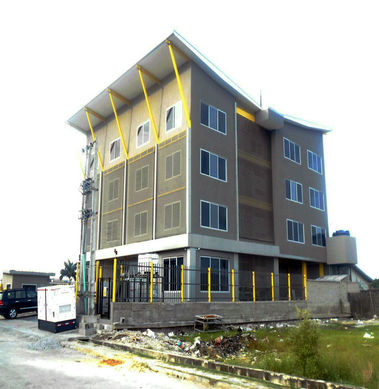 Steel Structure 4 Floor Office In Nigeria