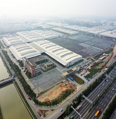 Steel Structure Industrial Park in Shishan