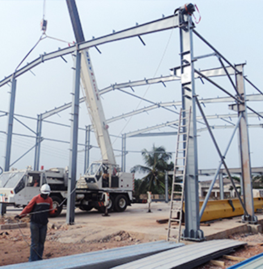 Steel-Structure-Workshop-in-Ghana-2