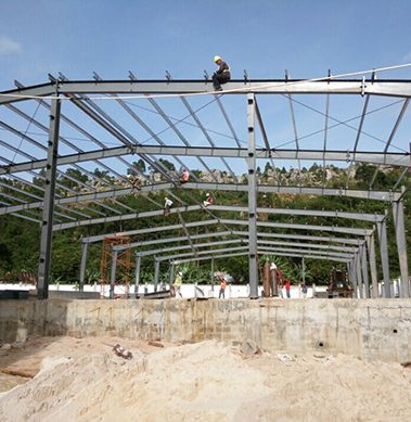 Steel Structure Workshop in Tanzania