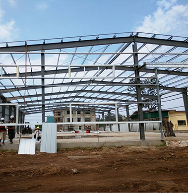 Steel Structure Warehouse in Saint Lucia