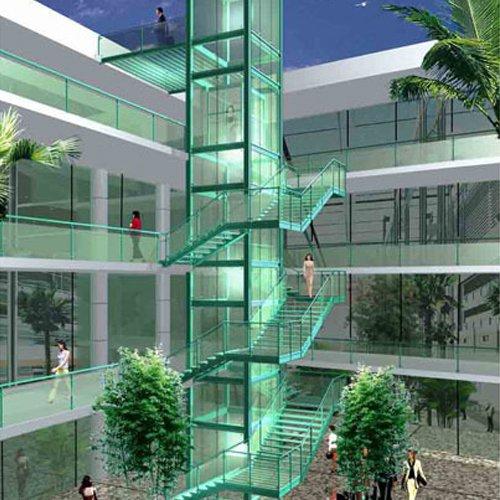 Commercial Construction Steel Elevator Shaft
