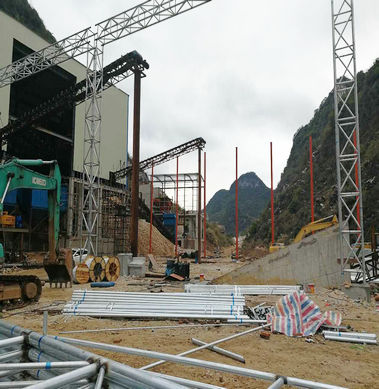 Steel structure mine in Guangxi