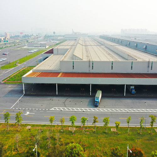 Steel Structure Warehouse Logistics Park
