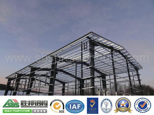 green building steel structure construction