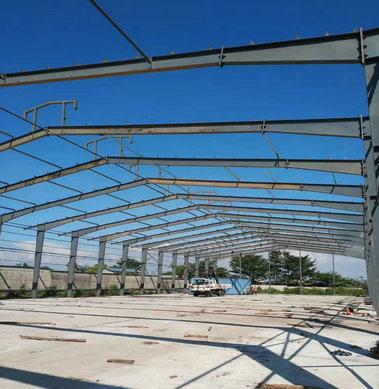 Steel structure warehouse in Cameroon