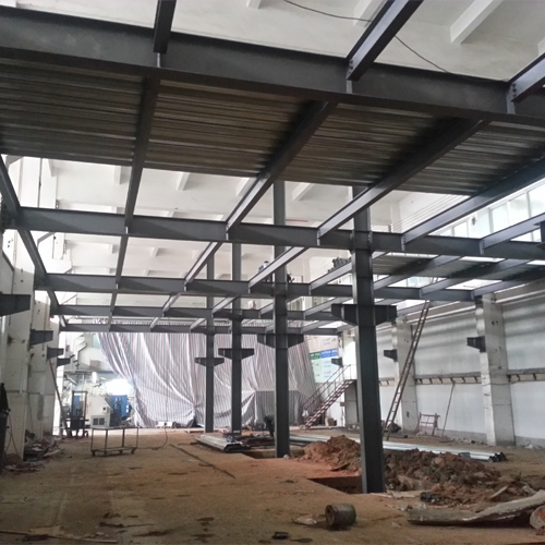 steel structure platform building