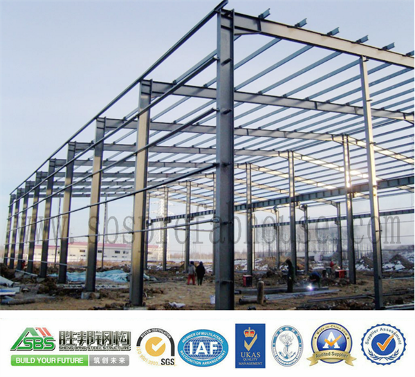 Stability design of precast steel structure