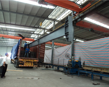 Load steel structures